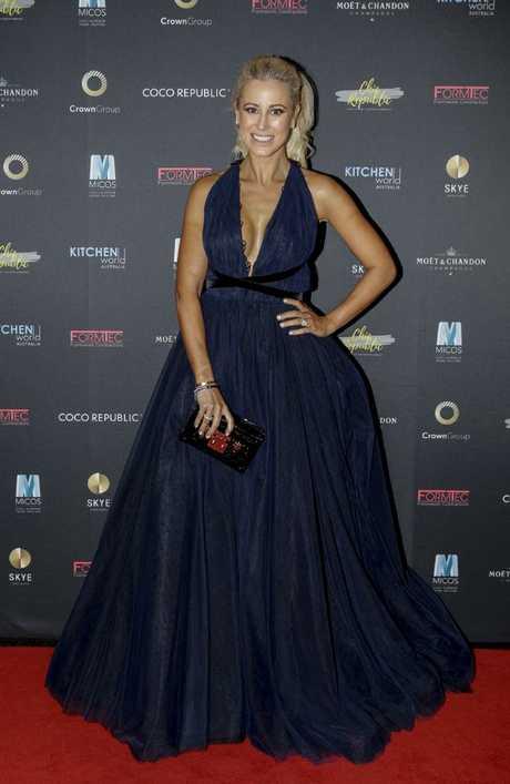 Roxy Jacenko at a ball in Sydney last week. Picture: Vassi Lena