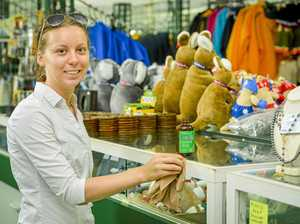 Students get Gladstone's first souvenir shop up and running