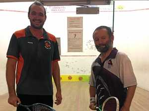 Squash champion succeeds in Queensland Masters