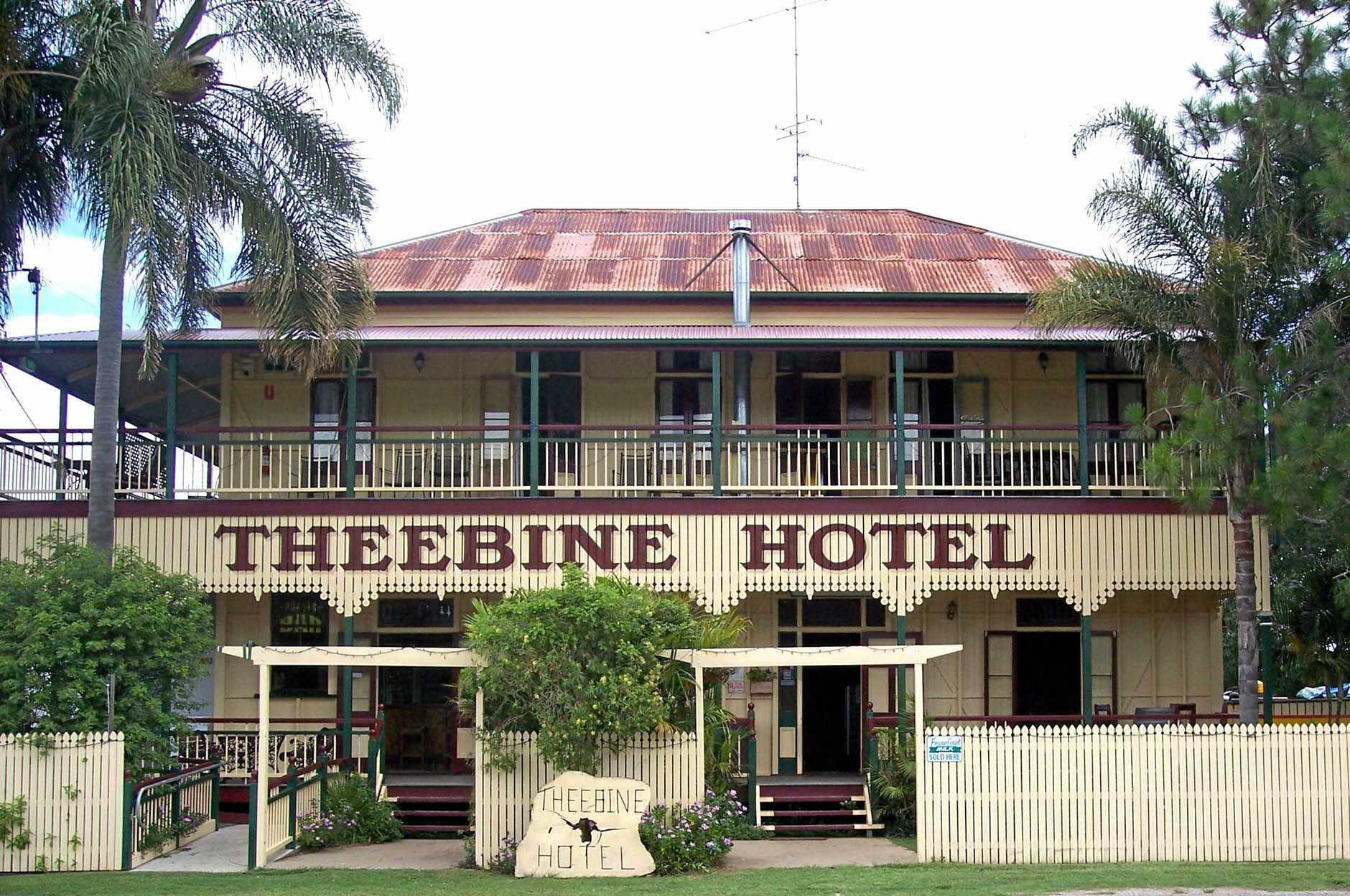 The iconic Theebine Hotel is for sale.