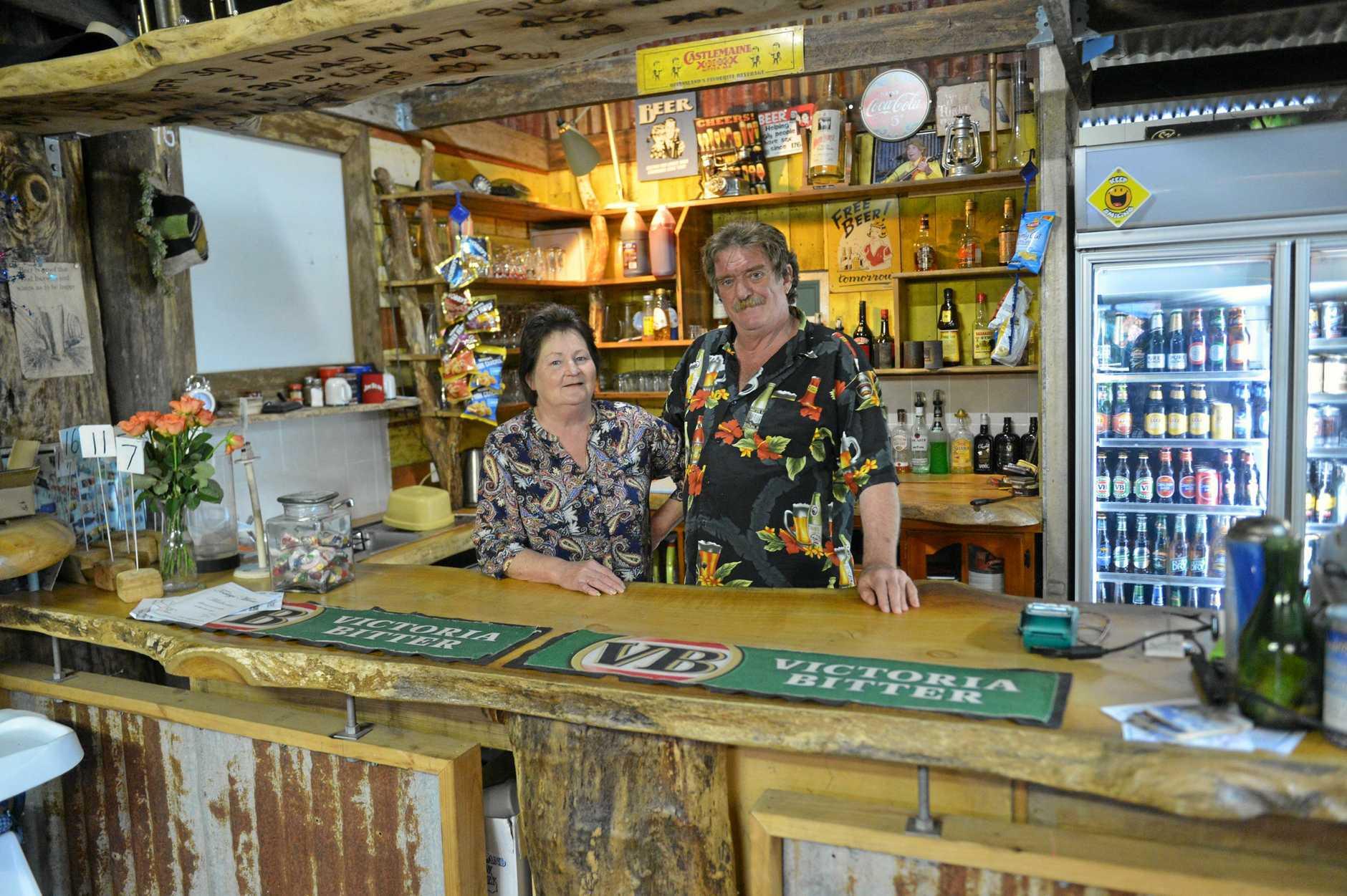 OPPORTUNITY KNOCKS: Silky Oak Tea Gardens owners Helen Dean and Daryl Levy.