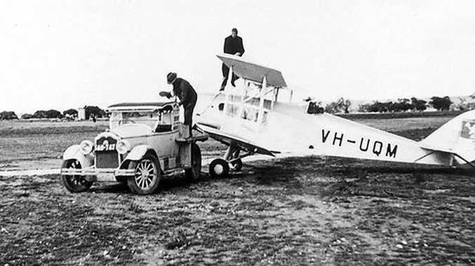 THROWBACK: RFDS founder Reverend John Flynn prepares the fleet for action.