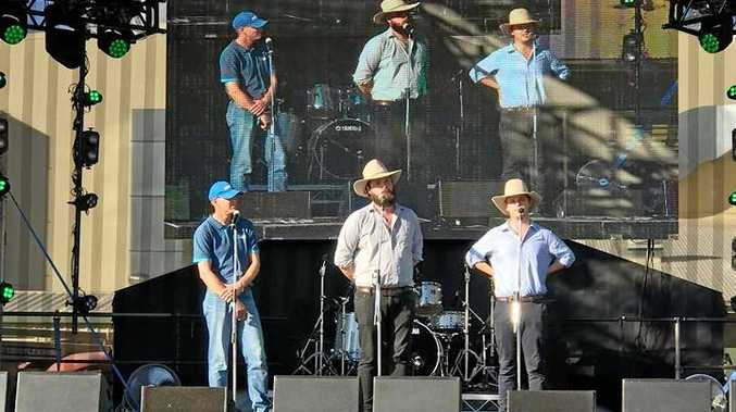 BIG LAUGHS: The Betoota Advocate crew brought their humorous, country-based look at life to stages in Rockhampton during a visit for Beef Australia 2018.
