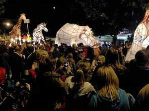 Wonderland replaces garden at Lantern Parade