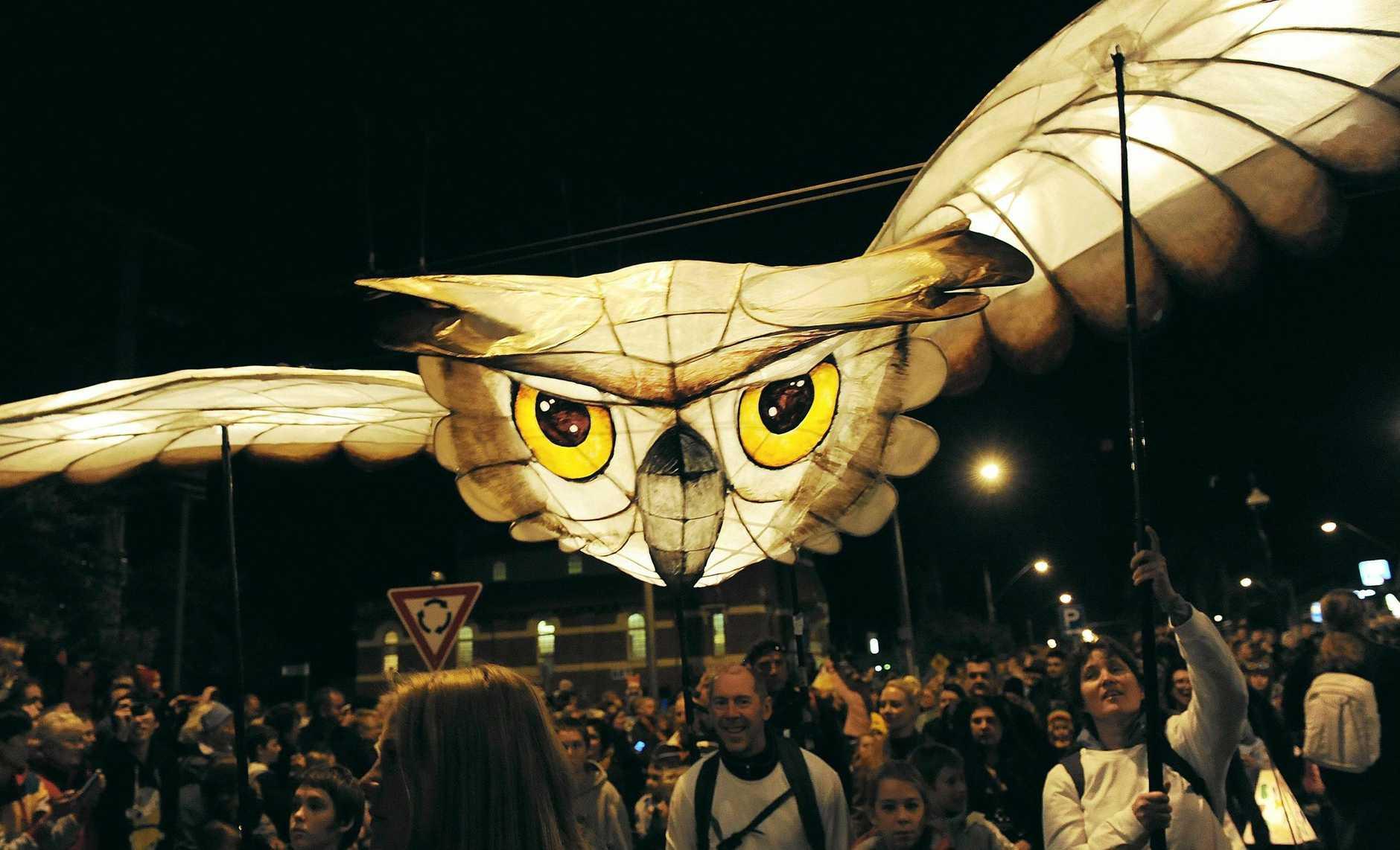 The 2013 Lismore Lantern Parade.
