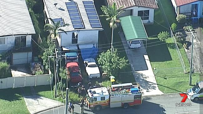 One person is feared dead in a Caboolture house fire, on the Sunshine Coast, QLD.