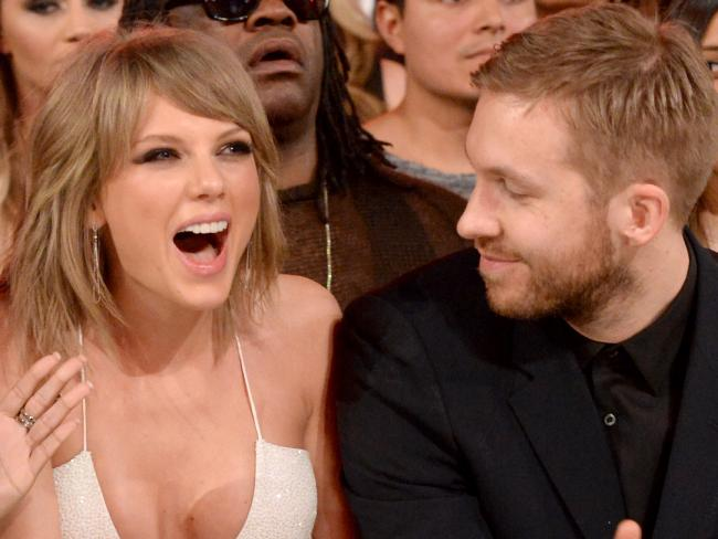 Singer Taylor Swift (L) and DJ Calvin Harris used to date. Picture: Supplied