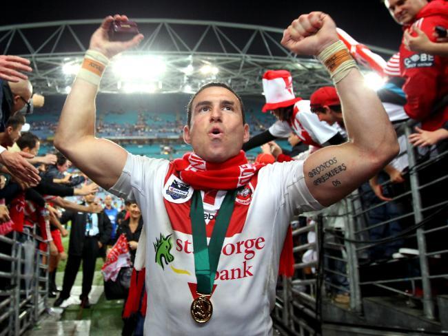 Darius Boyd tasted premiership success with St George Illawarra in 2010.