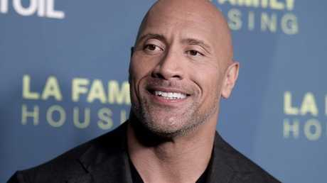The Rock is getting $1 million to post on social media about a new movie he's in