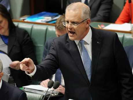 Treasurer Scott Morrison says those who say his tax cuts are tiny are 'out of touch'. Picture: Gary Ramage