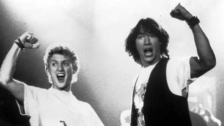 Bill & Ted's Excellent Adventure was an unexpected success.