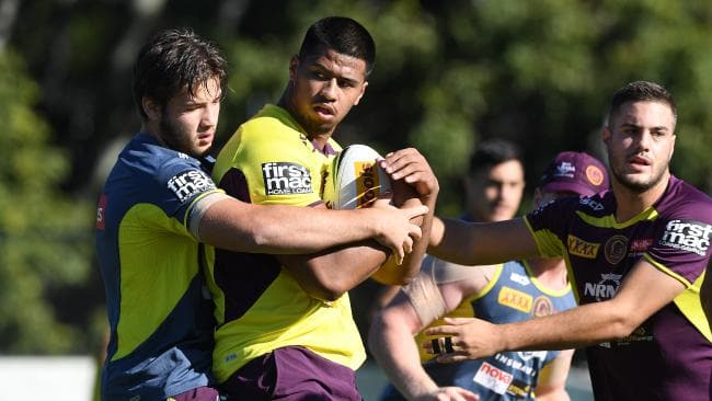 Payne Haas trained strongly on Wednesday and is set to face the Sea Eagles.