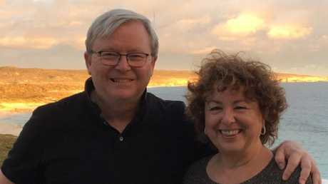 Hotelier Steven Shoobridge sold his penthouse to former prime minister Kevin Rudd and Therese Rein. Picture: Kevin Rudd's twitter account.
