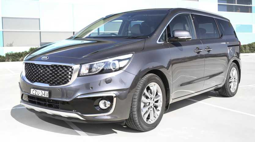 The Kia Carvival can handle the long haul...and off road.