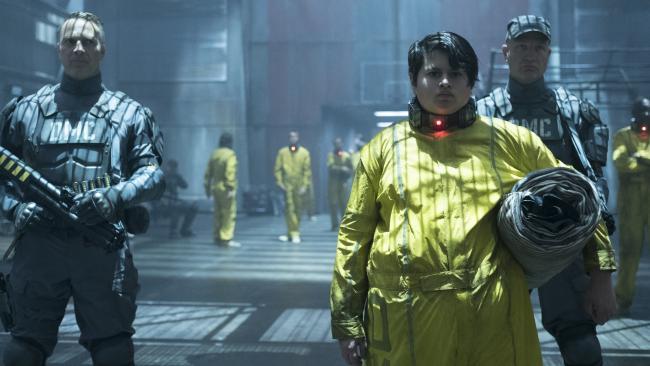 Julian Dennison as Russell/Firefist in Deadpool 2.