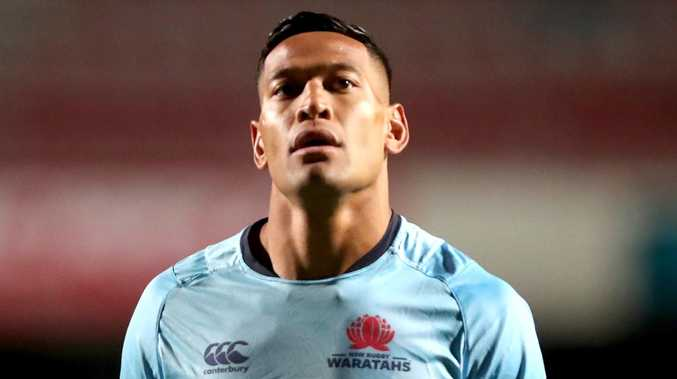 Israel Folau has posted a link to an anti-gay video on Twitter. Picture: AAP Image/Jeremy Ng