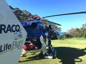 Elderly holiday-goer airlifted off Fraser Island