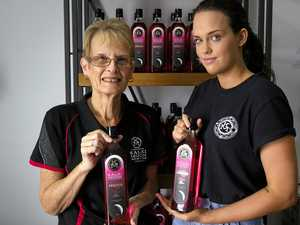 Hundreds of bottles of pink gin liqueur fly off shelves