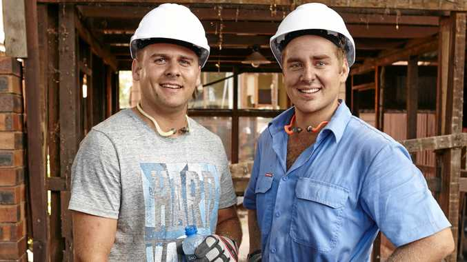 It's now time for Josh and Brandon to down tools and hand over the keys to their home.