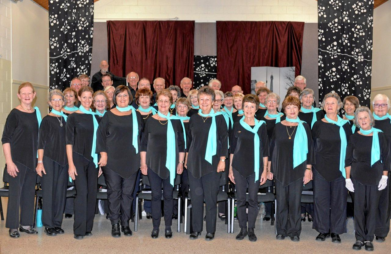 LAST NIGHT OF THE PROMS-STYLE: The Mapleton Choir will present The Best of British.