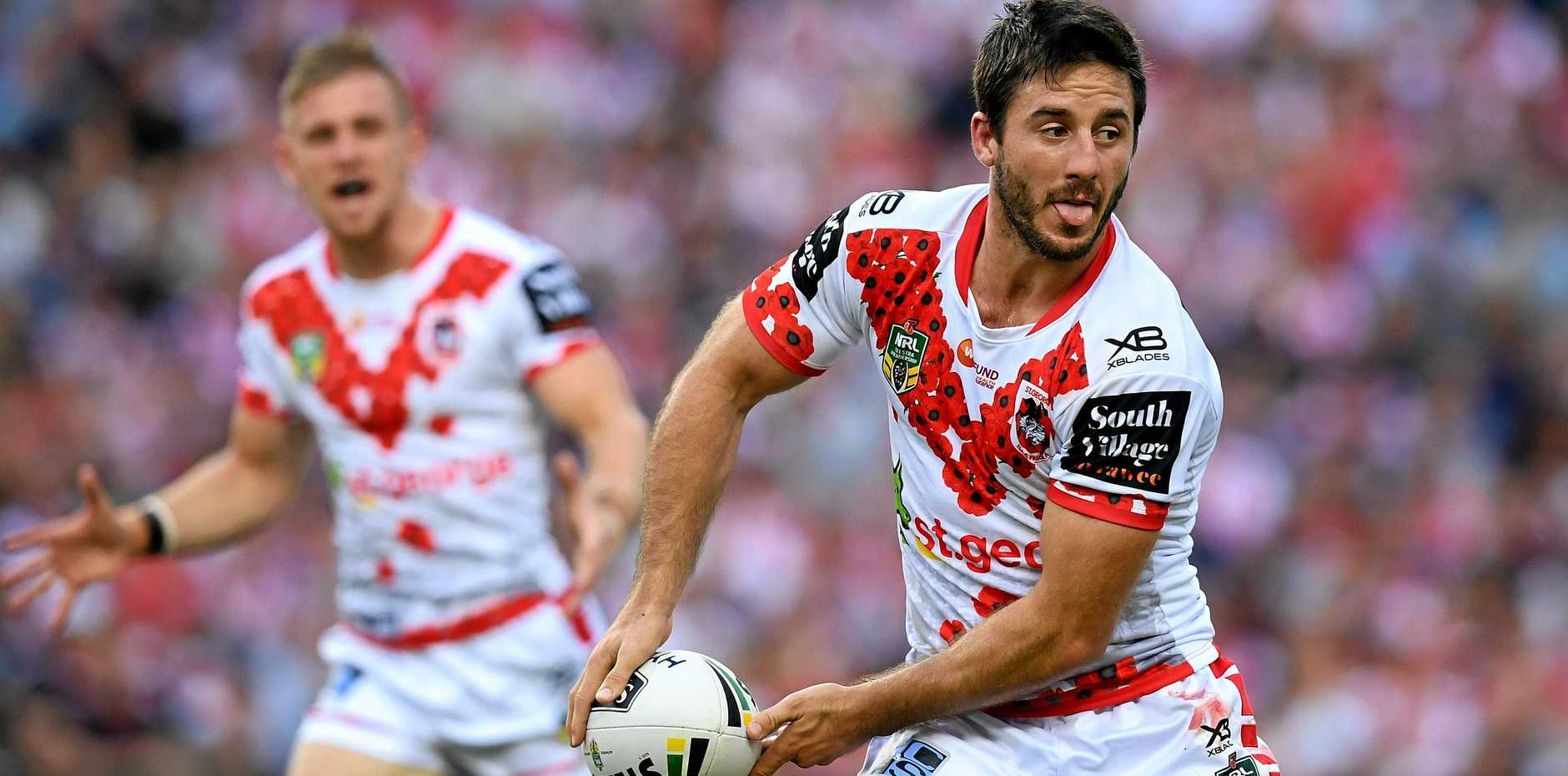 Ben Hunt has been the form halfback of the season so far.