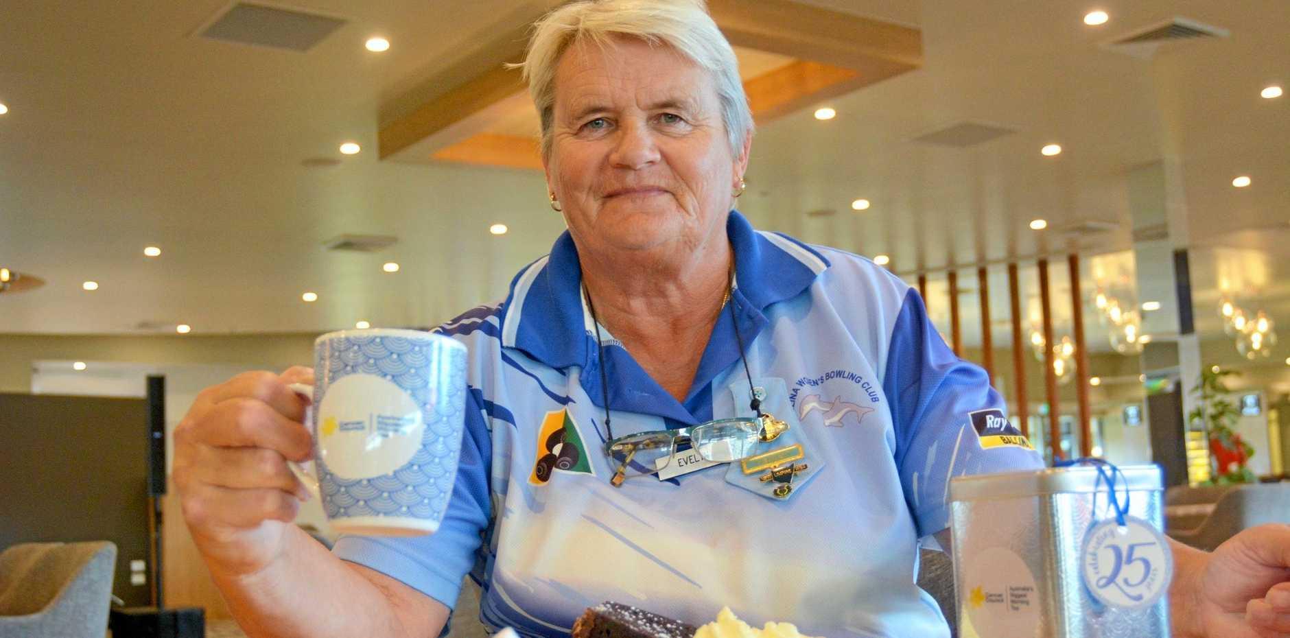 Ballina Women's Bowling Club president Evelyn Fox prepares for a major fundraiser, Australia's Biggest Morning Tea.