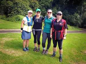 Chinchilla women to walk 100km in two days for charity