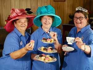 Pinkies out for Royal Wedding celebration