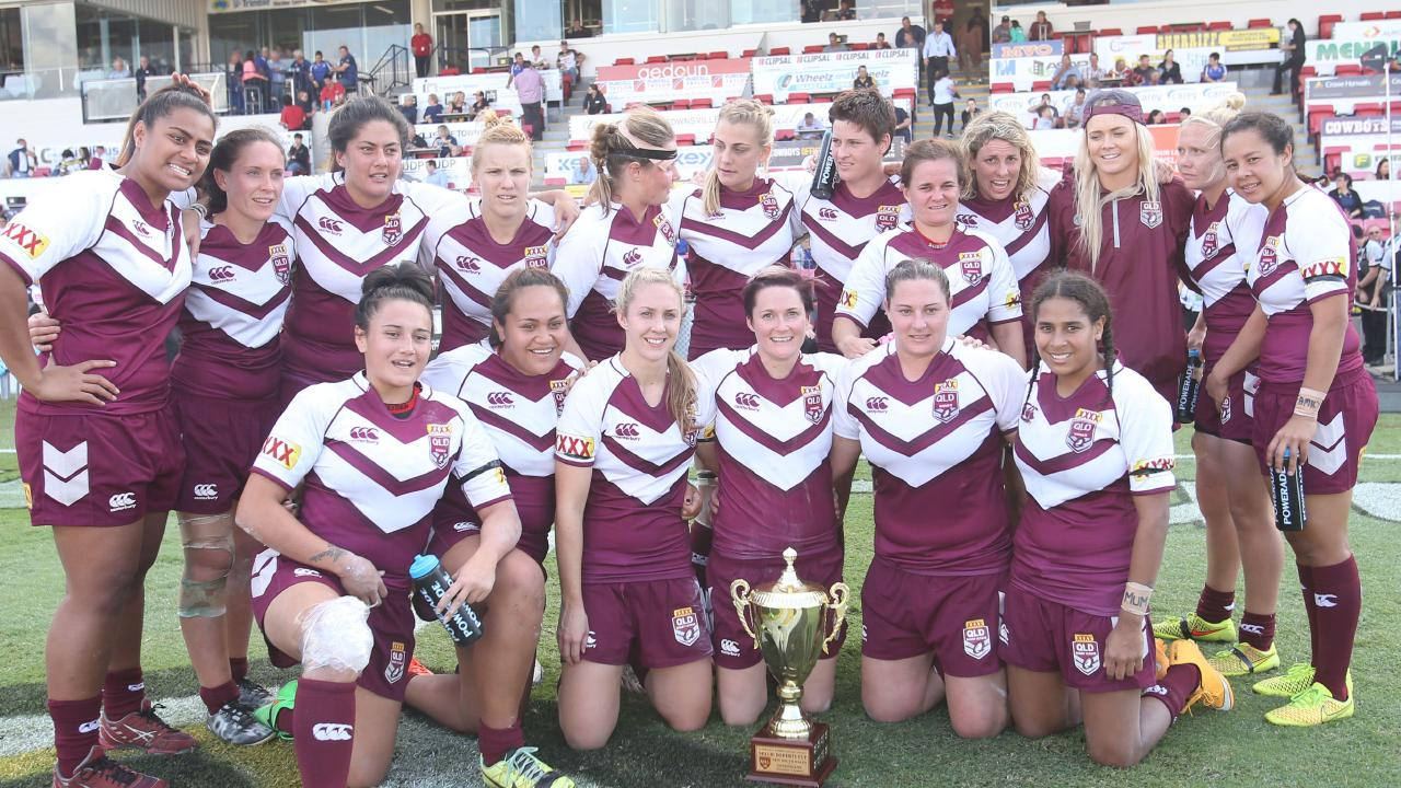 Queensland retained the trophy in 2015 after a draw. Pic: nrlphotos.com