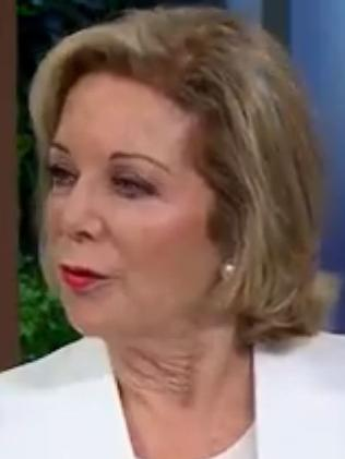 Ita Buttrose on The Morning Show this morning. Picture: Ch