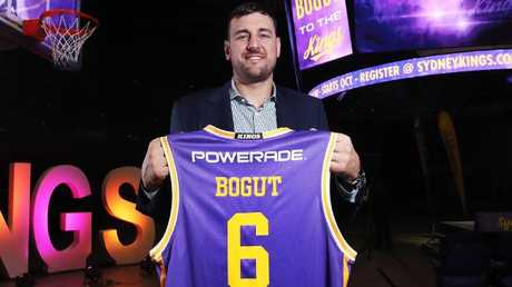 Andrew Bogut headlines the Sydney Kings line-up. Picture: Phil Hillyard