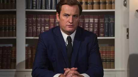 Australian actor Jason Clarke as a very convincing Ted Kennedy