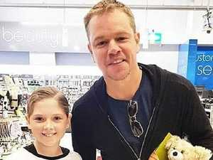 Damon's new bromance with Queensland star