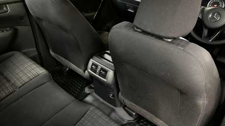 The X Class is one of the few in the class with rear air vents. Picture: Joshua Dowling.