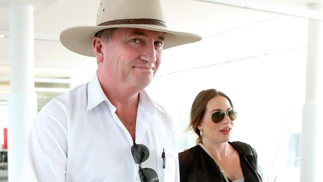 """Barnaby Joyce has said people would be """"surprised"""" about how much he does around the home. Picture: Kym Smith"""