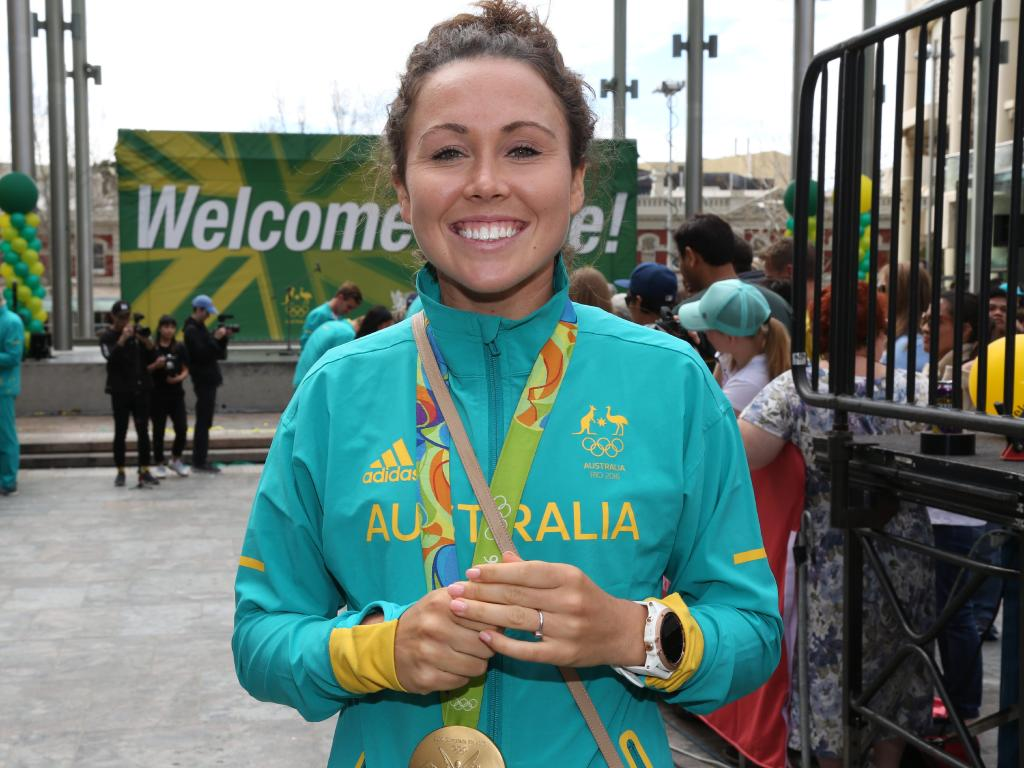 Chloe Esposito has added World Cup glory to Olympic gold.
