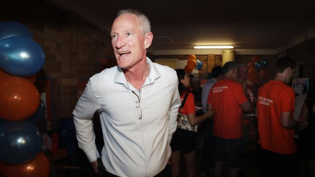 Steve Dickson after his loss at the state election. Picture: Lachie Millard