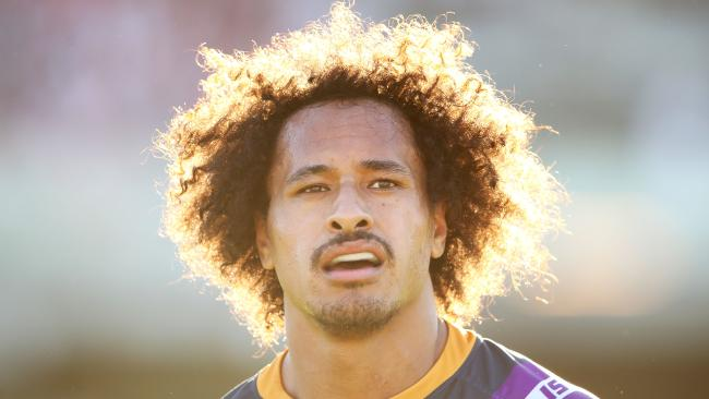 Storm enforcer Felise Kaufusi has shown big-game ability. (Mark Kolbe/Getty Images)