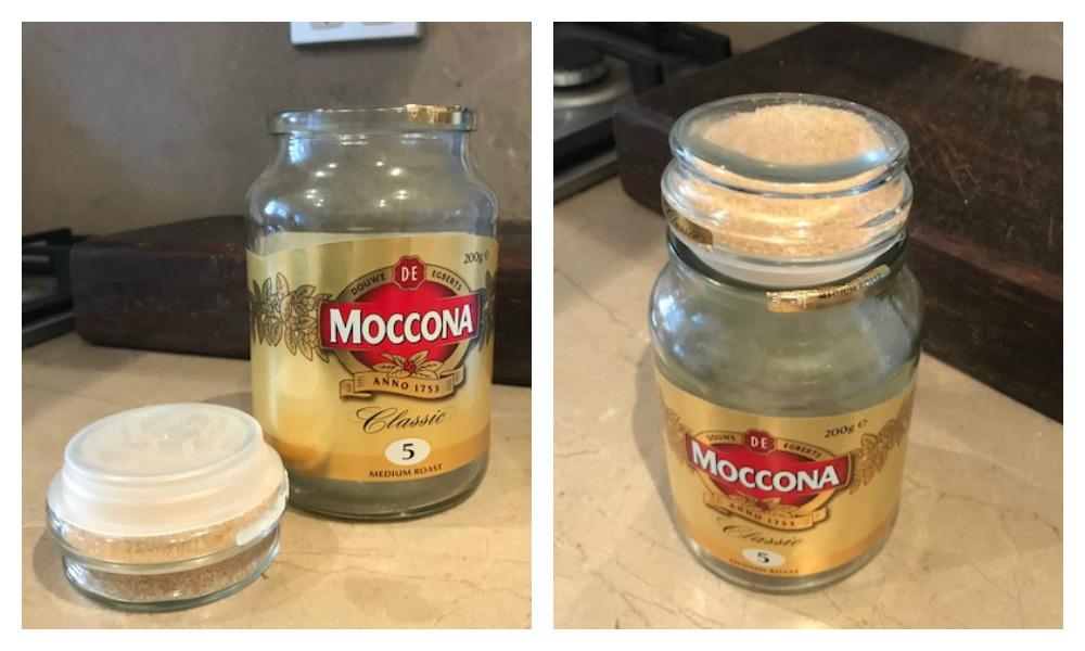 Step 3: Pop plastic lid back on. Step 4: Pop entire lid back on jar. Picture: Leah Goulis