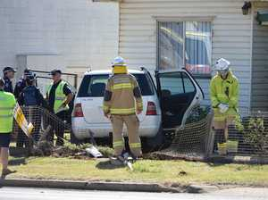 Person trapped as car slams into Wilsonton home