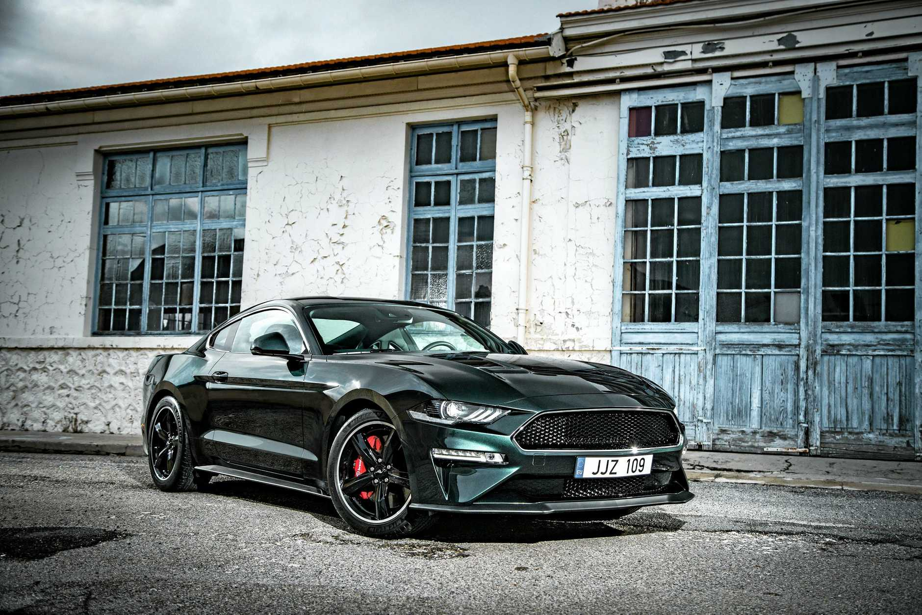 The special edition Mustang Bullitt, a special edition celebrating the 50th anniversary the legendary film.