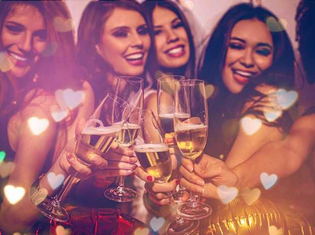 FUN TIMES: Get the girls together for a night of good food, dancing, tarot readers and more