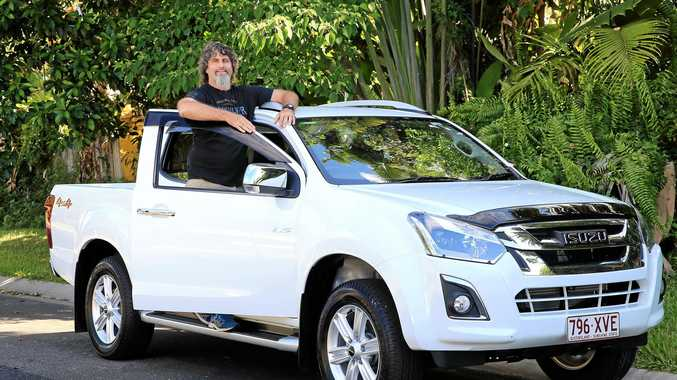 WINNER: Gordonvale man Paul Huntriss has won a $50,000 Isuzu D-Max ute in a Queensland competition.