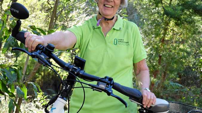 BIKE PUSH: Vivien Griffin wants to see an electric bike commuter trial in Noosa.