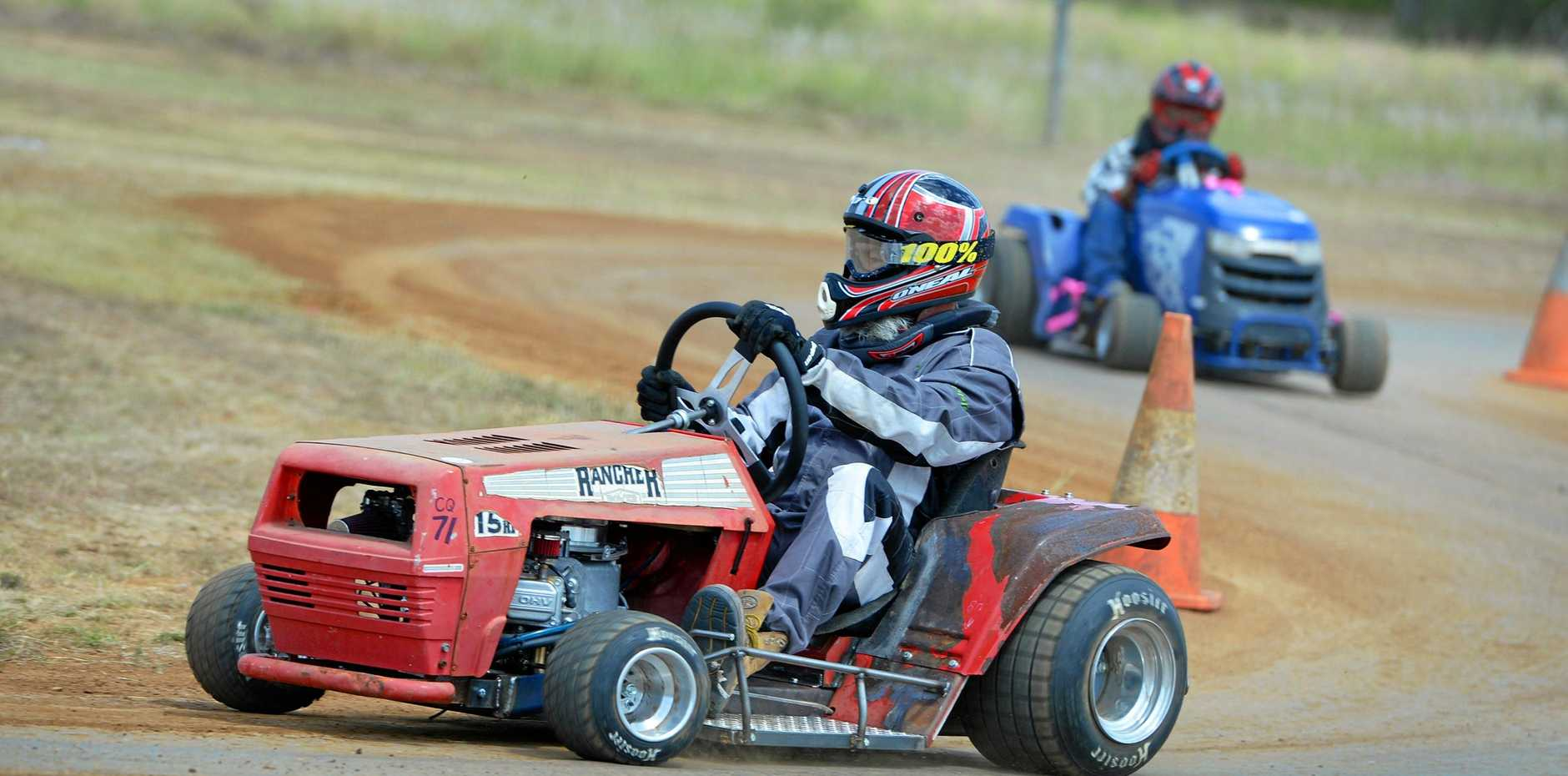 READY TO RACE: Local driver Sean Booy will compete in the outlaw class in Queensland titles action at the Yaamba track on Sunday.
