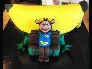 Big Banana cake a tasty fundraiser