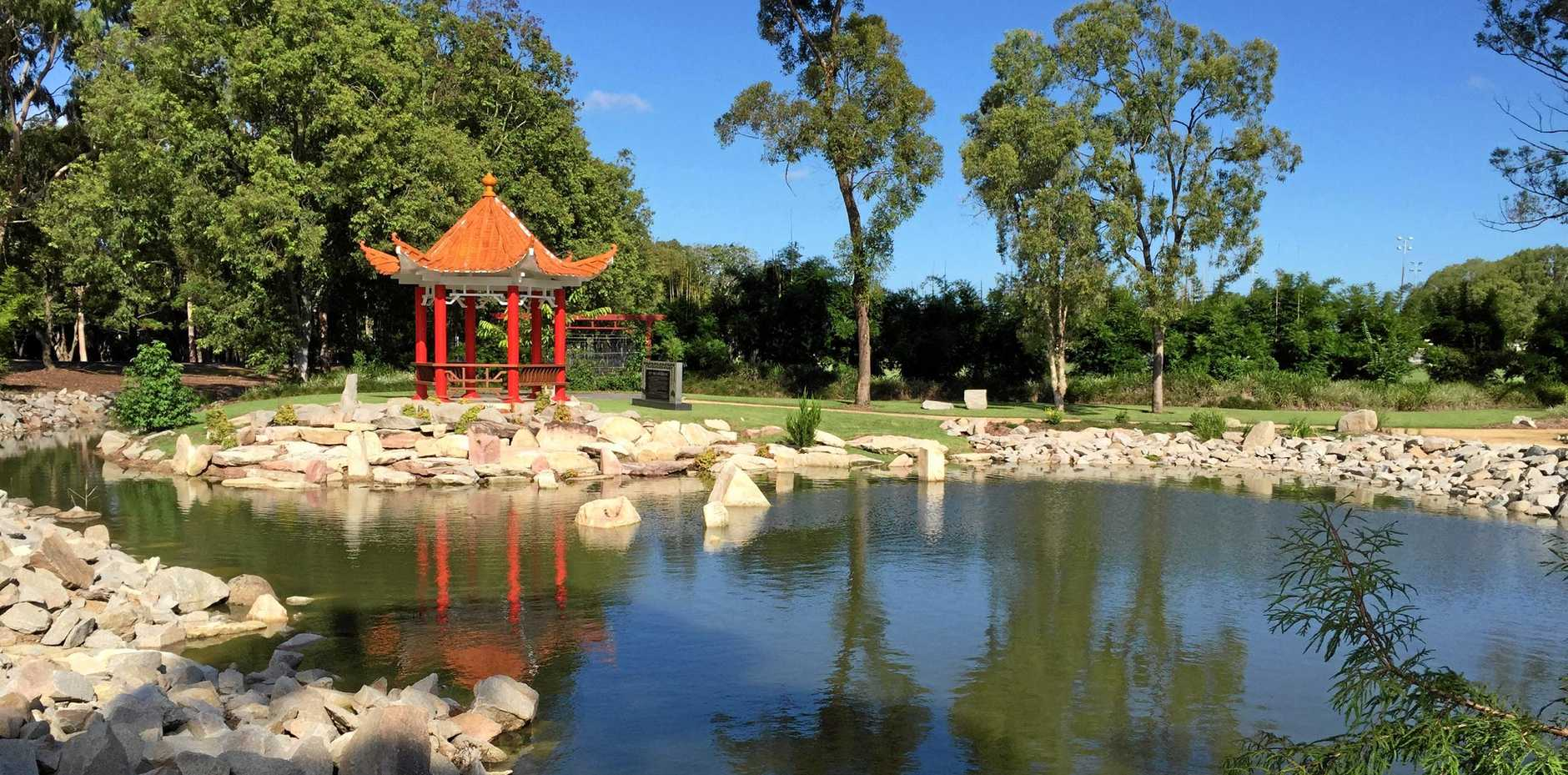 SPECIAL EVENT: The redesigned Nanning Gardens will be officially dedicated on Saturday morning.