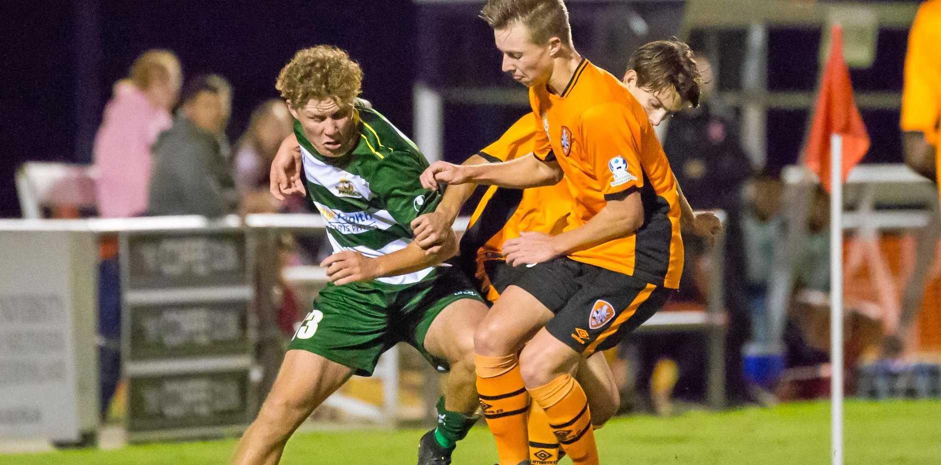 Hard-working Western Pride footballer Jacob Minett