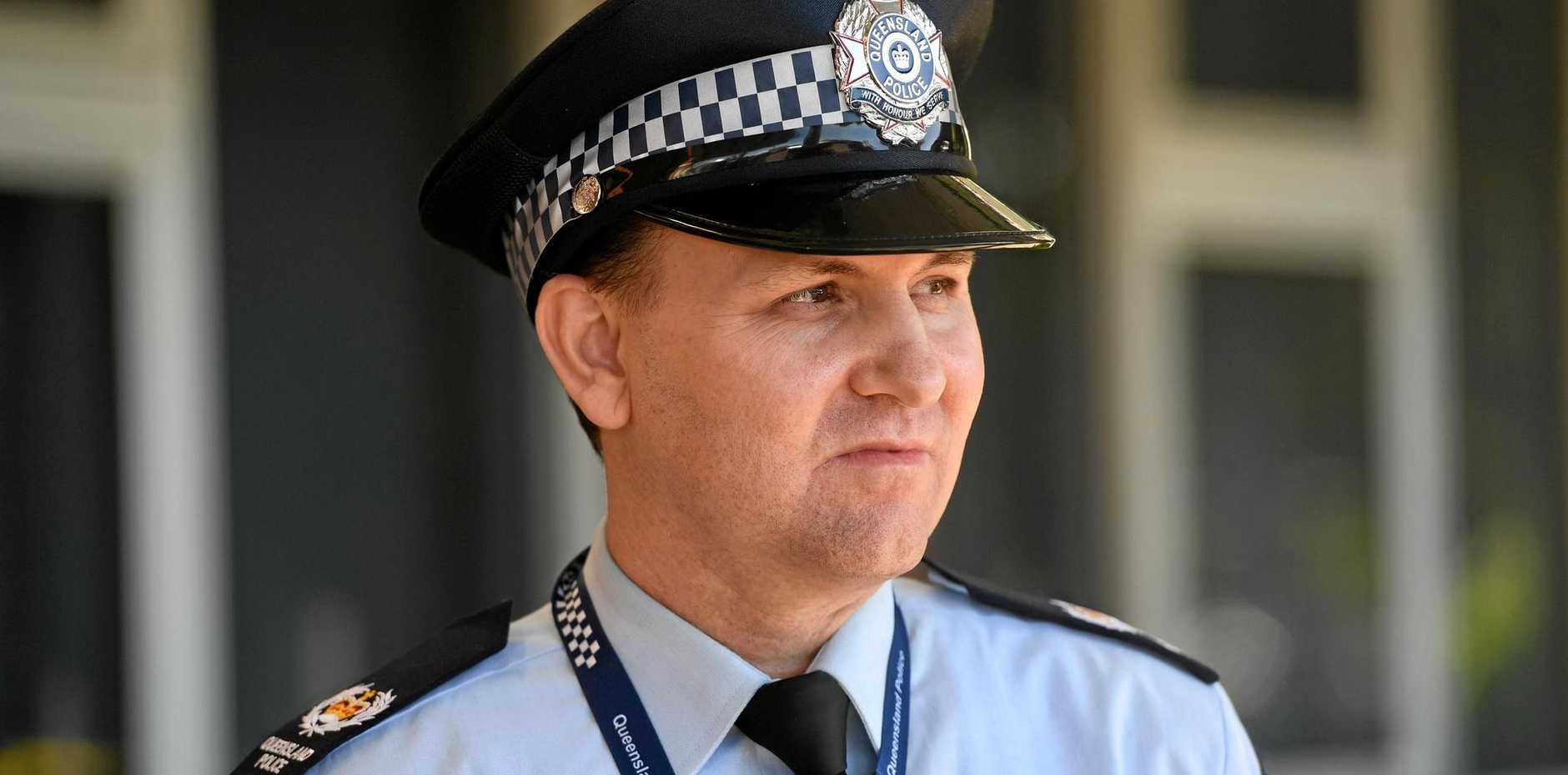BUNDABERG POLICE: Senior Sergeant Michael McGarry Officer in Charge has just been appointed to the region and says he is ready to tackle crime head on.