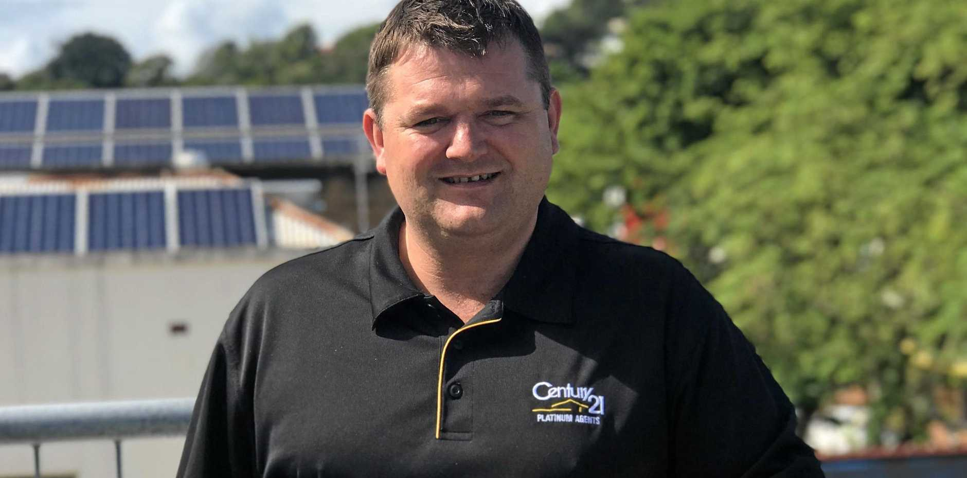 BETTER YET: Century 21 Gympie principal Billy Mitchell says the town's rental market is the best it has ever been.
